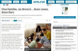 Una Familia, un divorci